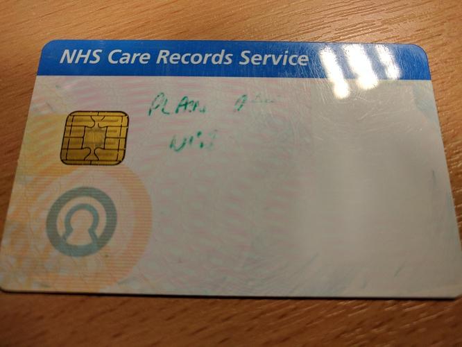 How NHS Smart Cards Work - a Beginner's Guide - NHoS - openhealthhub org